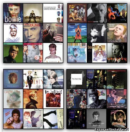 David Bowie - iTunes Discography [27 Studio albums, 7 Compilations, 3 Soundtracks, 1 Single] (1967-2013)