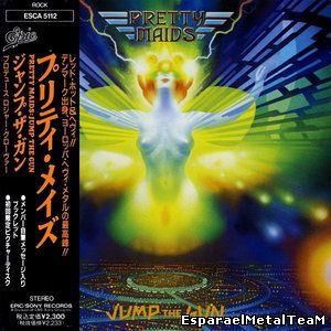 Pretty Maids - Jump The Gun (1990) [Japan 1st Press]