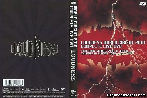 Loudness - Loudness World Circuit 2010