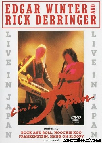 Edgar Winter And Rick Derringer - Live In Japan DVD (1990)