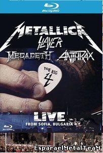 V.A-Metallica, Slayer, Megadeth, Anthrax: The Big 4 - Live from Sofia, Bulgaria (2010)