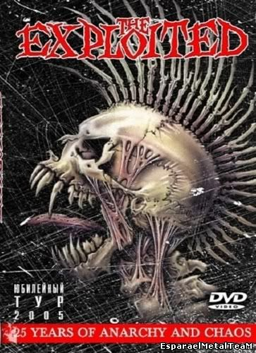 The Exploited - 25 Years Of anarchy And Chaos (DVD & CD)
