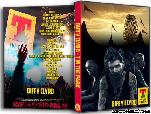 BIFFY CLYRO-T in The Park-2014