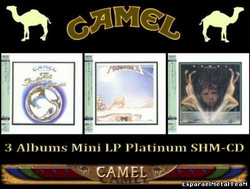 Camel - 3 Albums 1975-77 (Mini LP Platinum SHM-CD)