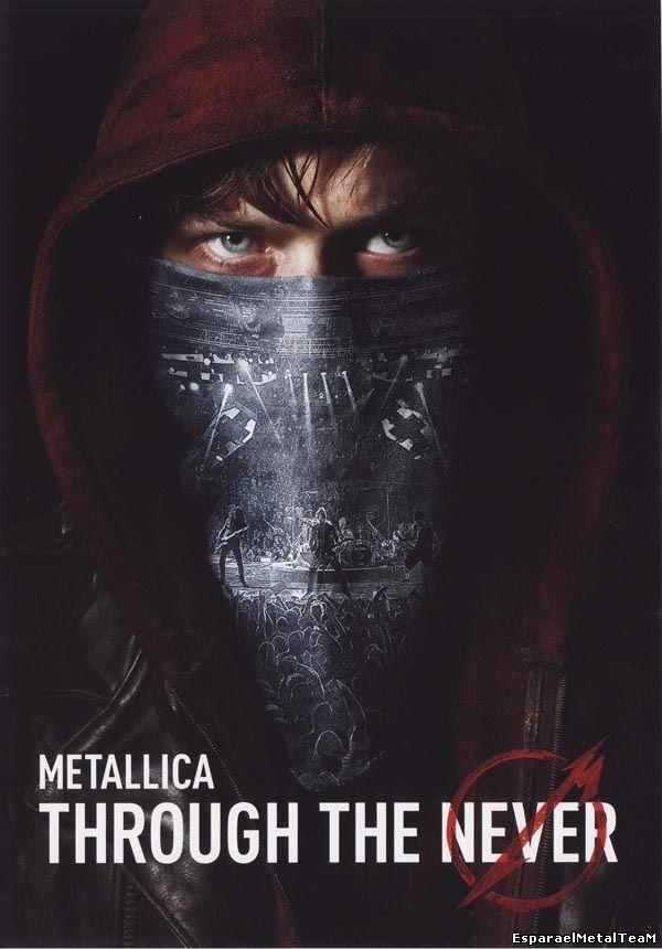 METALLICA - Through The Never. 2 DVD.