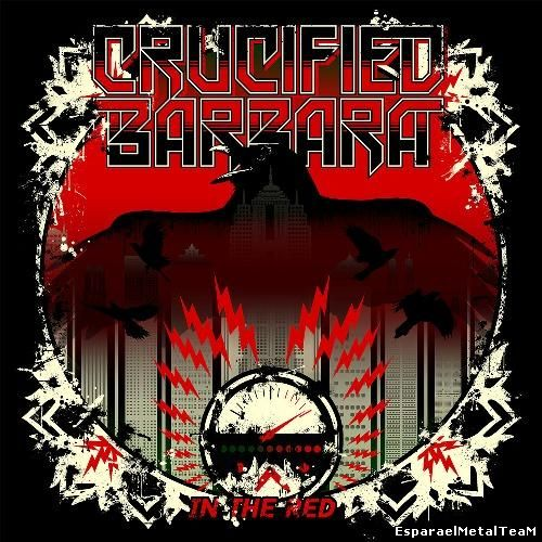 Crucified Barbara - In The Red (2014)
