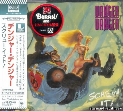 Danger Danger - Screw It! 1991 [BSCD2 Sony Music Japan 2014]
