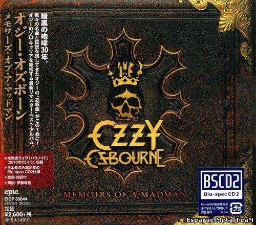 Ozzy Osbourne - Memoirs Of Madman (Japan, EICP 30044) (2014)