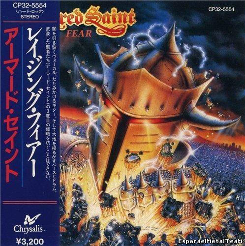 Armored Saint - Raising Fear (Japan Edition) (1987)