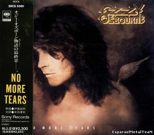 Ozzy Osbourne - No More Tears {Japan 1st Press} (1991)