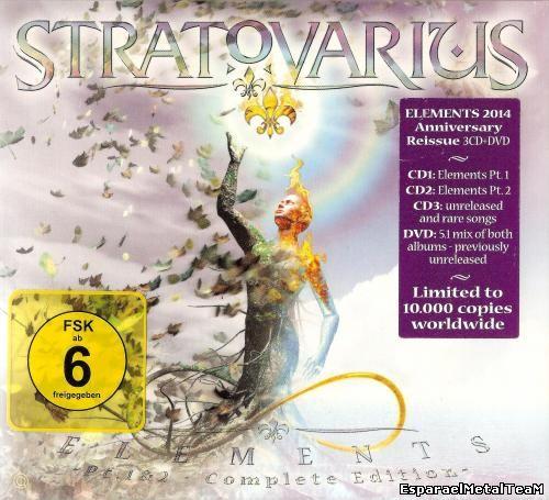 Stratovarius - Elеmеnts Pt. 1 & 2 (2014) [Complete Edition]