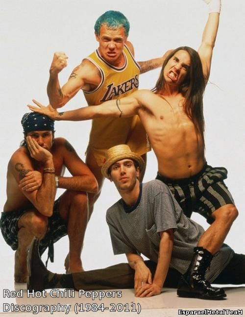 Red Hot Chili Peppers - Discography [15 Albums] (1984-2011)