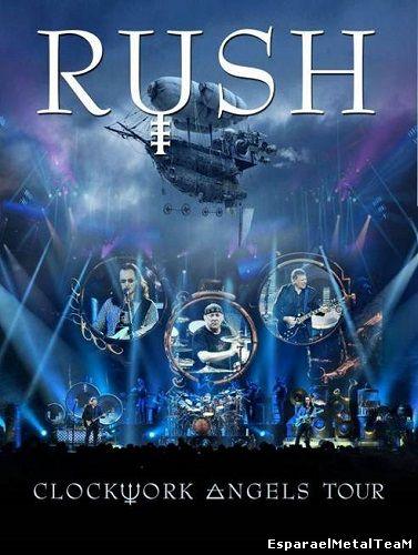 Rush - Clockwork Angels Tour DVD (2 DVD) (2013)