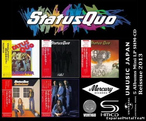 Status Quo - 5 Albums Mini LP SHM-CD (2013)