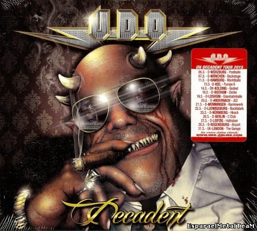 U.D.O. - Decadent (2015) [Limited Edition]