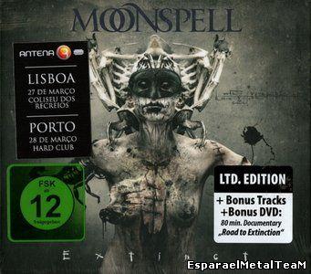 Moonspell - Extinct (2015, CD+DVD)