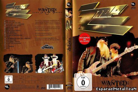 ZZ Top - Wonted: Live In New Jersey (2009)