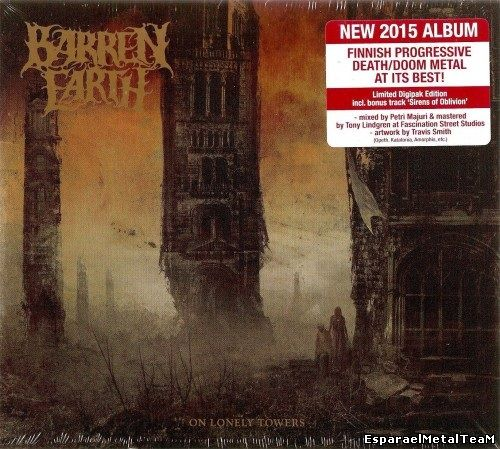 Barren Earth - On Lonely Towers (2015) [Limited Edition]