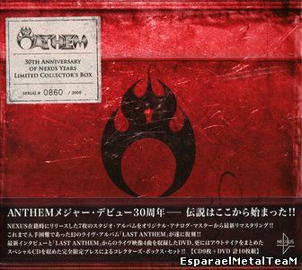 Anthem - 30th Anniversary of Nexus Years Limited Collector's Box (2015, 9CD+DVD)