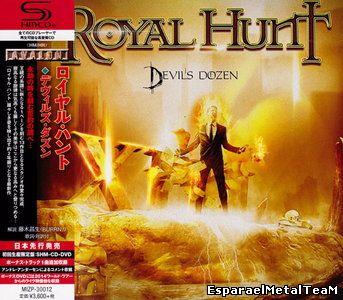 Royal Hunt - Devil's Dozen (2015) [Japan LTD SHM-CD] CD+DVD