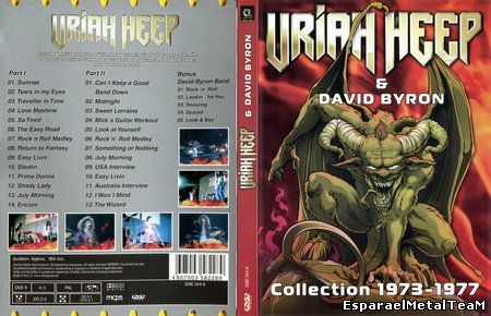 Uriah Heep & David Byron - Collection 1973-1977 (2010)