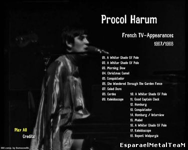 Procol Harum - French TV-Appearances 1967-1968 (2015)