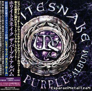 Whitesnake - The Purple Album (2015) [CD + DVD, Japanese Edition]