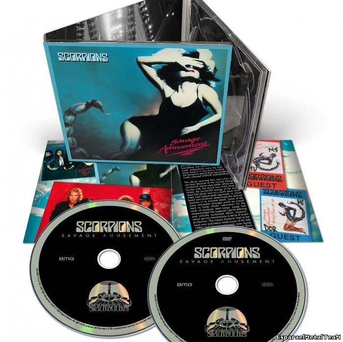 Scorpions - Savage Amusement [50th Anniversary Deluxe Edition] (2015)