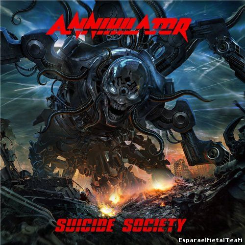 Annihilator - Suicide Society (2015) [2CD Deluxe Edition]