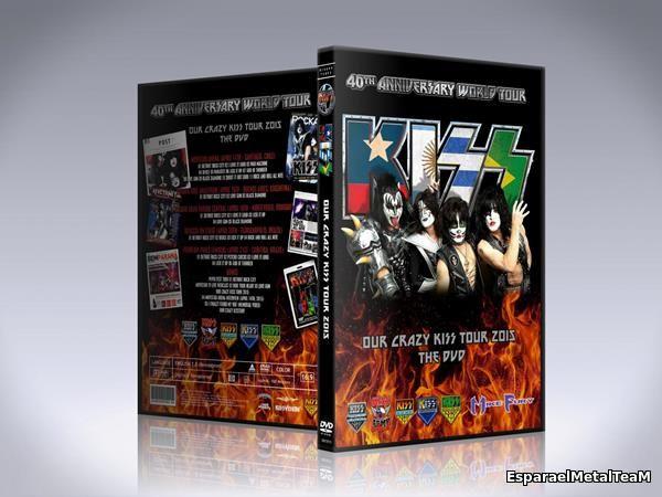 Kiss - Our Crazy Kiss Tour 2015 The DVD