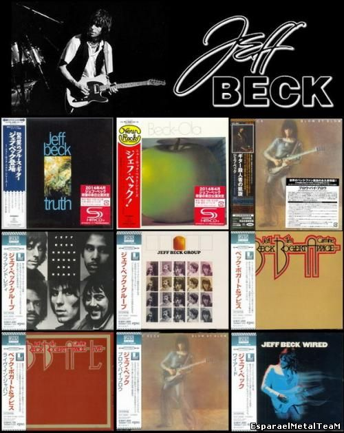 Jeff Beck - Albums Collection: 9 Albums (10CD) [Japan](2013 - 2014)