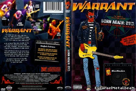 Warrant - Born Again: D.V.D. Delvis Video Diaries (2007)