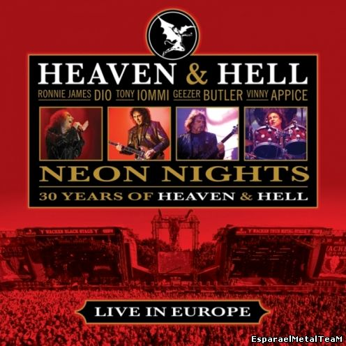 Heaven and Hell - Neon Nights ( Live in Europe 2009 )