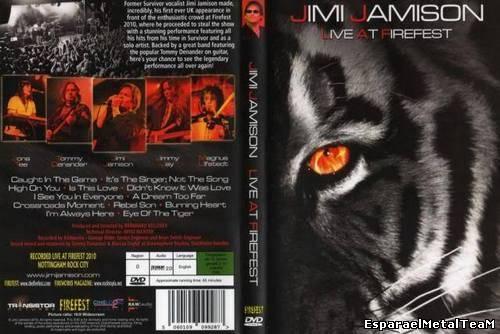 Jimi Jamison - Live At Firefest (2012)