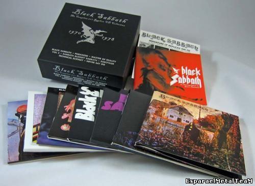 Black Sabbath - The Complete 70's Replica CD Collection (1970-1978)